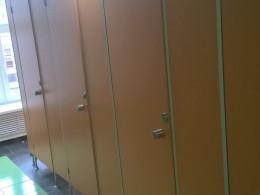 Заказ сантехнических перегородок, объект 1176