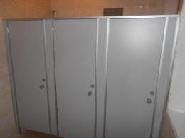 Заказ сантехнических перегородок, объект 2646
