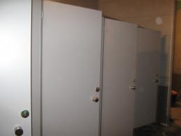 Заказ сантехнических перегородок, объект 2373