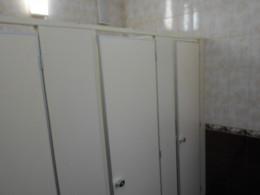 Заказ сантехнических перегородок, объект 2698
