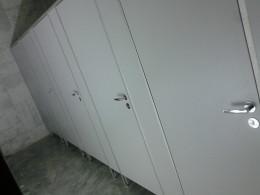 Заказ сантехнических перегородок, объект 2662