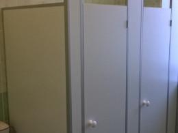 Заказ сантехнических перегородок, объект 2192