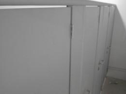 Заказ сантехнических перегородок, объект 3707