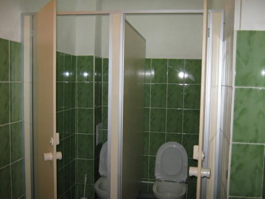 Основные размеры сантехнических перегородок