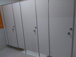 Заказ сантехнических перегородок, объект 3448