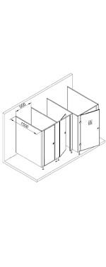 Туалетные перегородки МПГН