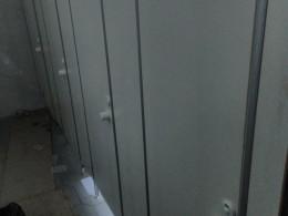 Заказ сантехнических перегородок, объект 3533