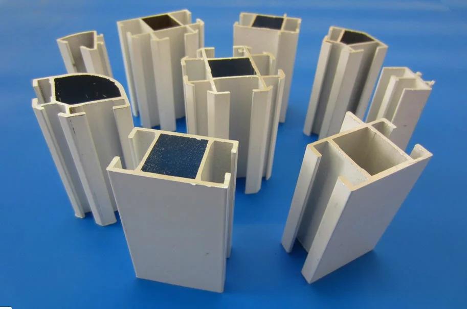 Алюминиевый профиль для перегородок из поликарбоната и ДСП
