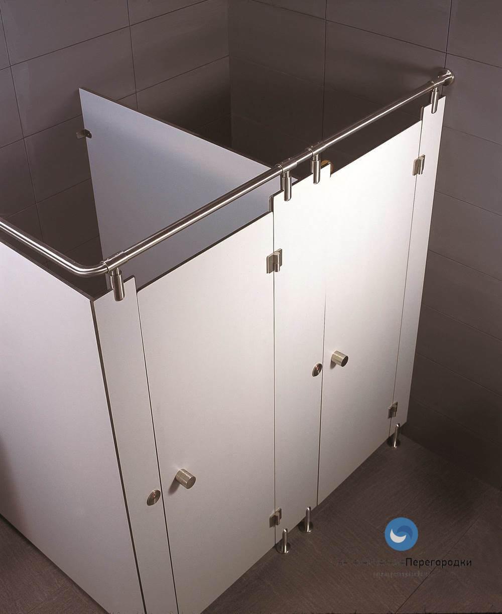 Перегородки сантехнические туалетные для санузлов